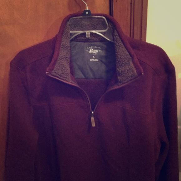 G.H. Bass & Co. Other - Men's Bass quarter zip pullover.